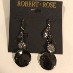 Robert rose earrings (x2oL)
